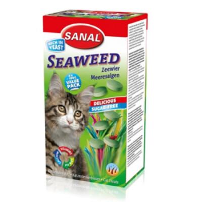 Санал для кошек Морские водоросли (Содержит В1, В2, В6, В12)  400гр