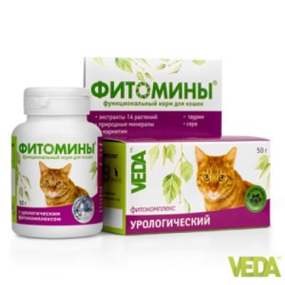 Фитомины для кошек Профилактика МКБ 100 таб