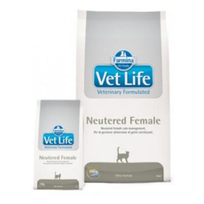Фармина (FARMINA Vet Life Neutered Female) корм для стерилизованных кошек 400 г