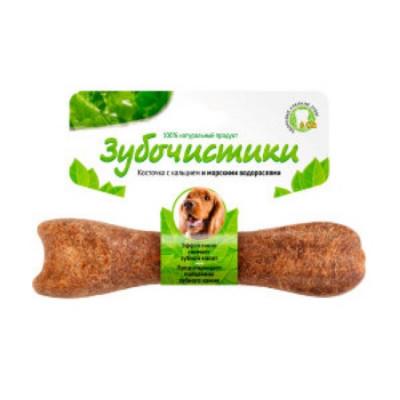 Зубочистики Косточка для собак 10-25 кг с кальцием и морскими водорослями
