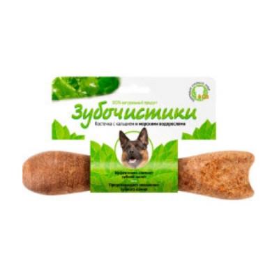Зубочистики Косточка для собак от 25 кг с кальцием и морскими водорослями