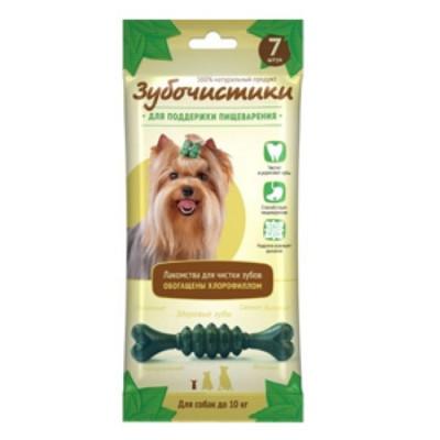 """Зубочистики """"Мятные"""" с хлорофиллом для собак мелких пород 7 шт"""