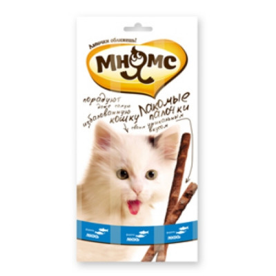 """Лакомство """"Мнямс"""" лакомые палочки для кошек с лососем и форелью 13,5 см"""