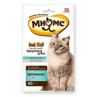 "Лакомство ""Мнямс"" дентал лакомство для кошек"