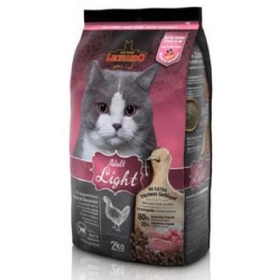 ЛЕОНАРДО Лайт сухой корм для кошек с избыточным весом, кастрированных котов и стерильных кошек 2 кг