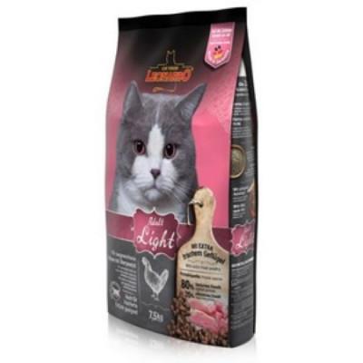 ЛЕОНАРДО Лайт сухой корм для кошек с избыточным весом, кастрированных котов и стерильных кошек 7,5 кг