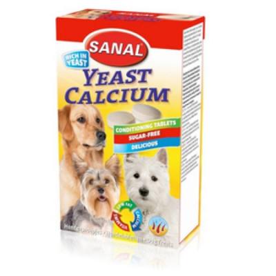 Санал для собак Кальций 100 таб