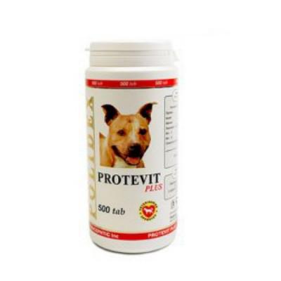 POLIDEX Протевит плюс стимулирует рост мышечной массы для собак 500 таб