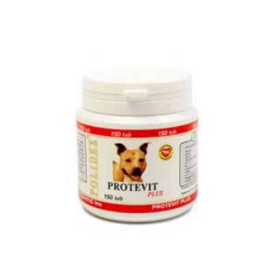 POLIDEX Протевит плюс стимулирует рост мышечной массы для собак 150 таб.