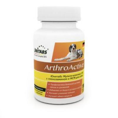 UNITABS ArthroАctive для собак при болезнях суставов 100 таб.