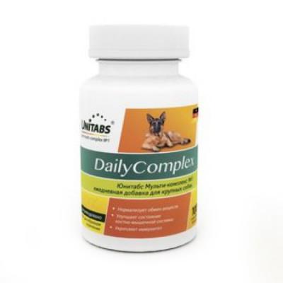 UNITABS DailyComplex для крупных собак ежедневный 100 таб