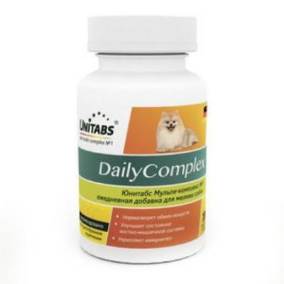 UNITABS DailyComplex для мелких собак ежедневный 100 таб