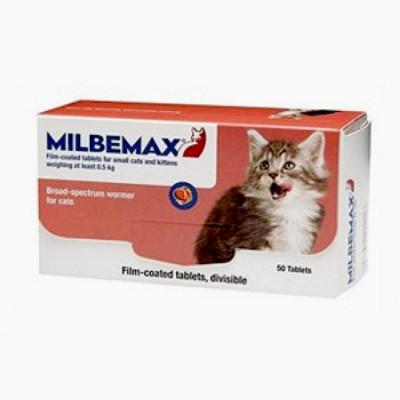Мильбемакс Антигельметик для котят и молодых кошек 2 таб