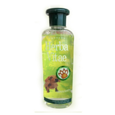 """Шампунь""""Herba Vitae""""для сильно загрязненных лап 250 мл"""