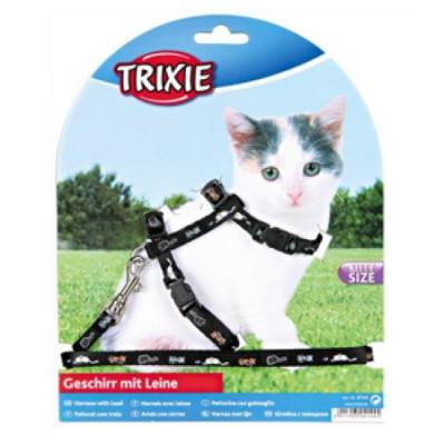 TRIXIE Шлейка для котят нейлон 21-32смх8мм
