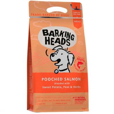 """Barking Heads корм сухой для собак с лососем и картофелем """"Мисочку оближешь"""" 12кг"""