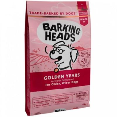 """Баркинг Хедс корм для собак старше 7 лет с курицей и рисом """"Золотые годы"""" 12кг"""