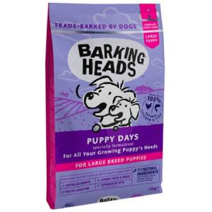 """Barking Heads корм сухой для щенков крупных пород с курицей, лососем и рисом """"Щенячьи деньки"""" 12кг"""