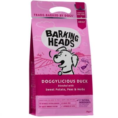 """Баркинг Хедс корм беззерновой для собак с уткой и бататом """"Восхитительная утка"""" 12кг"""