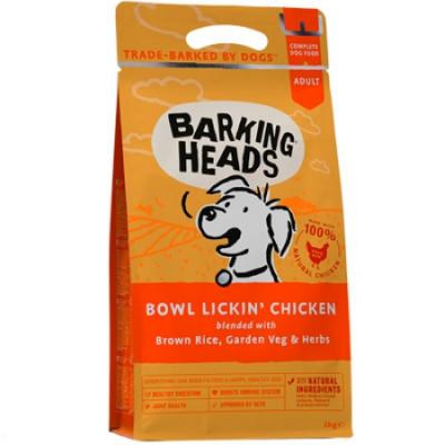 """Barking Heads корм для собак с чувствительным пищеварением с курицей и рисом """"Нежная забота"""" 18кг"""