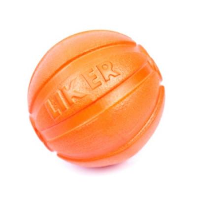 LIKER Мячик Лайкер диаметр 9см оранжевый