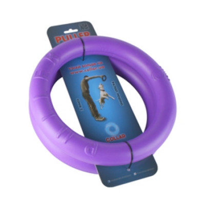 PULLER Тренировочный снаряд для животных  диаметр 28см  фиолетовый