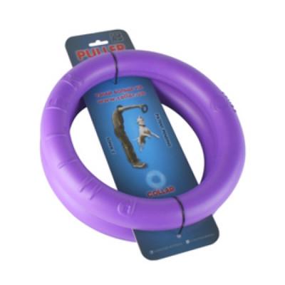 PULLER Тренировочный снаряд для животных  мини диаметр 19см фиолетовый