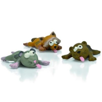 """Beeztees Игрушка для собак """"Животные в Нирване"""" латекс 22см"""