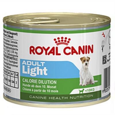 РОЯЛ КАНИН Adult Light Мусс консервы для собак 195 гр