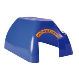 TRIXIE  Домик для грызунов малый пластик 16х14х9см