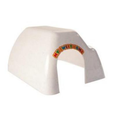 TRIXIE Домик для грызунок средний пластик 26х13см