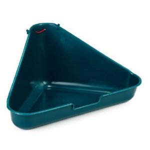 Beeztees Туалет для грызунов угловой  гранитный цвет 35х20х17см
