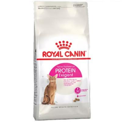 РОЯЛ КАНИН Экзиджент Протеин 42 для кошек привередливых к составу продукта 10кг
