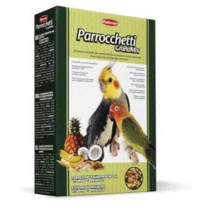 PADOVAN Grandmix Parrocchetti Основной корм для средних попугаев 850гр