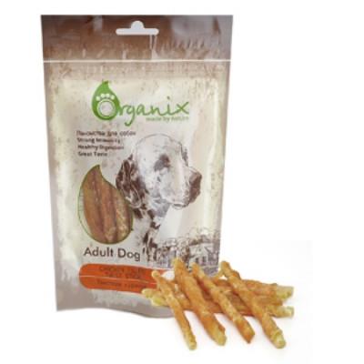 Органикс Лакомство для собак «Твистеры куриные» 100% мясо 100 гр