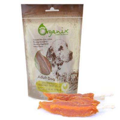 Органикс Лакомство для собак «Куриное филе на палочке» 100% мясо 100 гр
