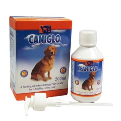Канигло витаминизированная пищевая добавка с рыбьим жиром для собак 200мл