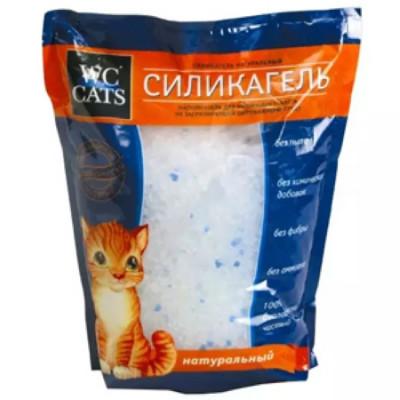Наполнитель WC for cats силикагель 7,6л