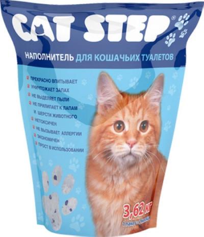 Cat Step  Наполнитель силикагель 3,82кг7,6л (НК-006)