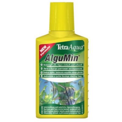 TetraAqua AlguMin Препарат для предупреждения возникновения водорослей и борьбы с ними 250мл