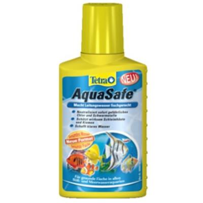 Tetra AquaSafe Препарат для подготовки водопроводной воды 100мл
