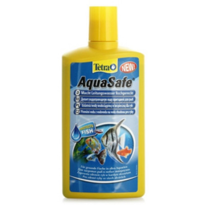 Tetra AquaSafe Кондиционер для подготовки воды аквариума 250мл