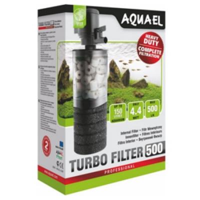 AQUAEL Турбо Фильтр 500 тройной очистки производительность до 500л\час  150л