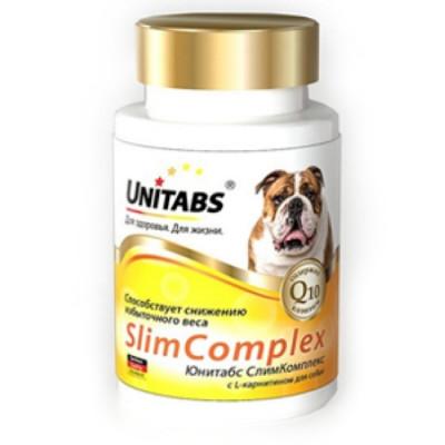 UNITABS SlimComplex с Q10 для собак 100 таб