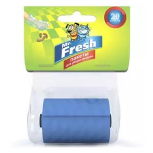 Mr.Fresh Пакеты для уборки фекалий (сменный рулон) 20 пакетов