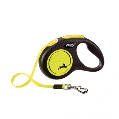 -flexi рулетка New Neon M (до 25 кг) лента 5 м