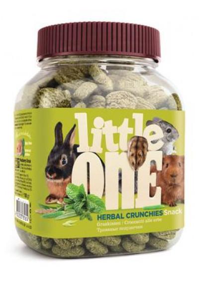 -Little One (Литтл Он) Травяные подушечки лакомство для всех видов грызунов 100г