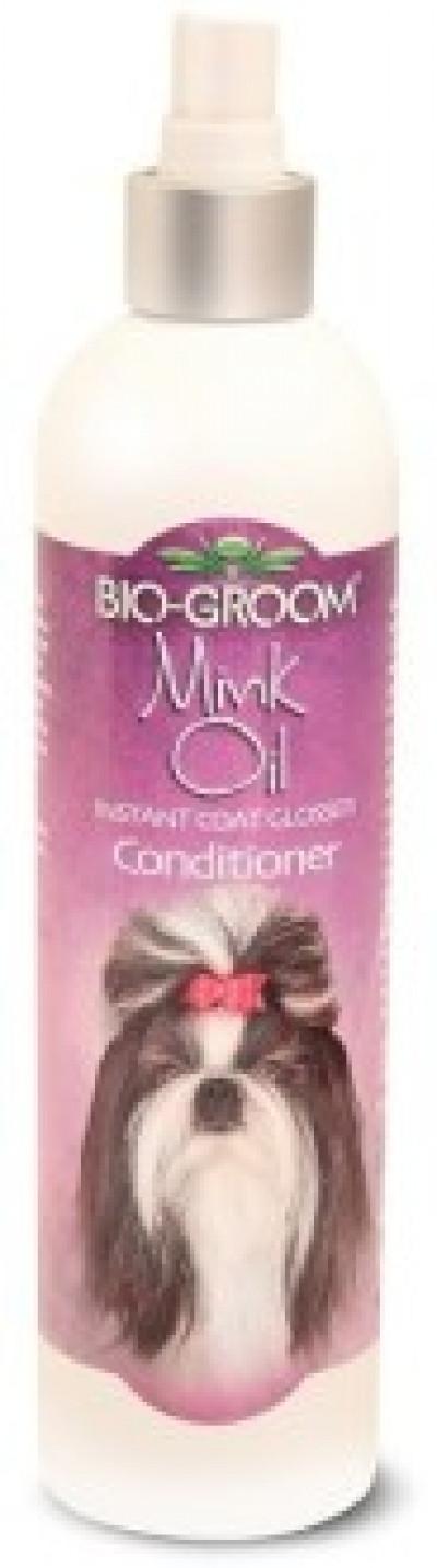 Bio-Groom Mink Oil спрей с норковым маслом для блеска и роста шерсти 355 мл арт. 30712