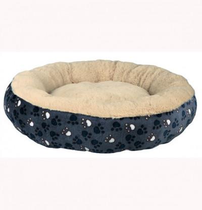 Trixie Лежак Tammy, диаметр 50 см, синий/бежевый, арт.57653