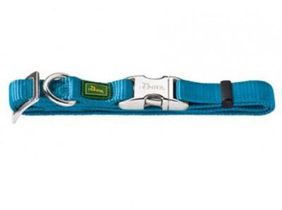 -Hunter ошейник для собак ALU-Strong L (45-65 см) нейлон с металлической застежкой бирюзовый